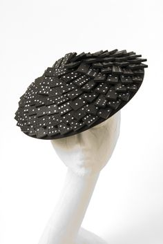 http://www.theheadmistressboutique.com  https://www.etsy.com/listing/120656792/50s-black-and-white-domino-hat-dior