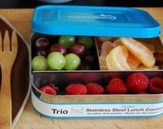 Lunchbots stainless steel food containers: here's a guide to help you select which size you need.