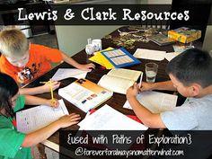 Lewis & Clark Resources/Unit Study