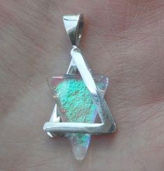 Opal star of David