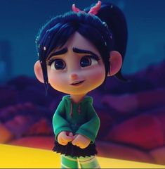 I can't get enough of that face 😍 Cartoon Girl Images, Cute Cartoon Pictures, Cartoon Girl Drawing, Cartoon Profile Pictures, Cartoon Pics, Cute Cartoon Wallpapers, Girl Cartoon, Cartoon Art, Vanellope Y Ralph