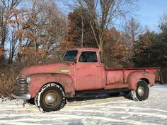 1949 5 Window Deluxe Chevrolet Pickup Truck 9' Foot Bed One Ton 3800 for sale: photos, technical specifications, description Old Pickup, Pickup Trucks, Classic Trucks For Sale, Chevy, Chevrolet, Advertising Tools, Retro Radios, New Tyres, New Carpet
