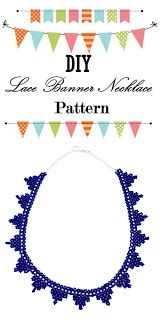 DIY Lace Banner Neck