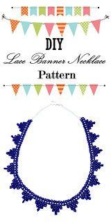 DIY Lace Banner Necklace Tutorial