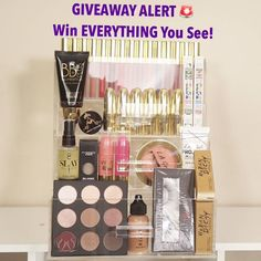 GIVEAWAY UPDATE: I've added all these products to the giveaway prize. Everything you see one winner will win including the LUXURY BEAUTY CASE from @legacydreamluxury.  The rules are:  1. MUST follow me and @legacydreamluxury (no longer a requirement to follow Gerard cosmetics). 2. MUST subscribe to my YouTube channel: http://ift.tt/293ttSl (link in bio). 3. MUST repost this picture and hashtag #napturalelenore and #legacydreamluxury(If you've already entered the giveaway from my last post…