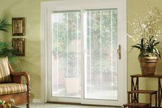 Patio Door With Internal Blinds