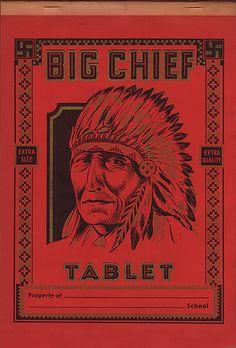 Big Chief Tablets ...  boomer nostalgia