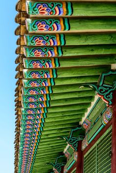 Gyeongbokgung Palace Temple Roof. This was the main royal palace of Joseon dynasty built in 1395 and part of the main throne hall of the Gyeongbok Palace.