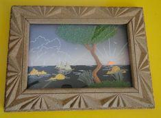 Tableau Chinois cadre et décor en liège relief Carving Asian Cork Art Relief, Decoration, Cork, Asian, Frame, Home Decor, Contemporary, Decorating, Room Decor