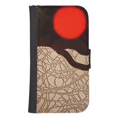 Crackle Sunrise ~ Phone wallet