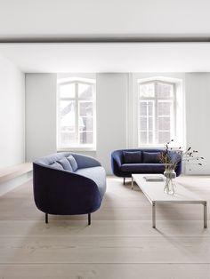 Haiku sofa designed by Gamfratesi for Fredericia at the Dinesen apartment