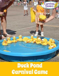 Duck Pond Carnival Game - see how to play and hints and tips for this classic carnival game.