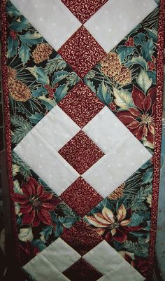 quilt patterns for christmas tablerunners   Twas The Night Before Christmas Mini Table Runner Quilt Kit -