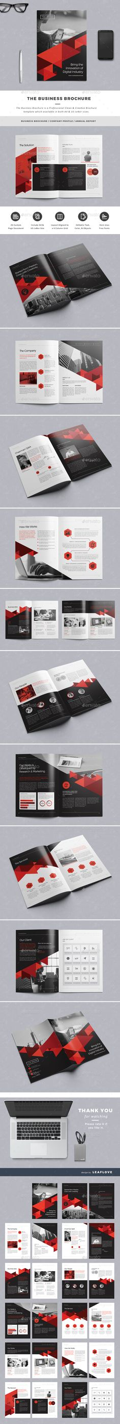 The Business Brochure Template InDesign INDD #design Download: http://graphicriver.net/item/the-business-brochure/14474584?ref=ksioks