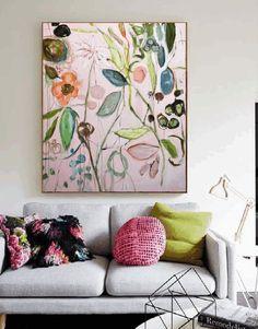 Dschungel colorful abstract painting by Jolina Anthony Illustration Art, Illustrations, Arte Disney, Painting Inspiration, Diy Art, Art Boards, Flower Art, Art Decor, Art Projects