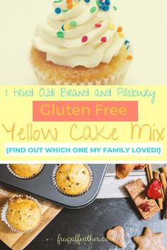 I'm on the hunt for the best affordable gluten free cake mix on the market! Pillsbury Gluten Free, Cheap Dessert Recipes, Dessert From Scratch, Free Groceries, Box Cake Mix, Gluten Intolerance, Yellow Cake Mixes, Chocolate Frosting, Cheap Meals