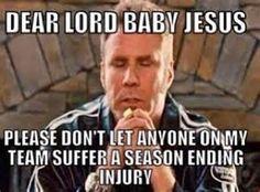 Ready for the preseason to end. #onemoreroundff #fantasyfootball #nfl #injuries