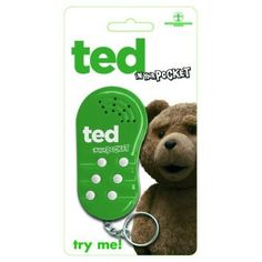 Ted The Movie In Your Pocket Talking Keychain