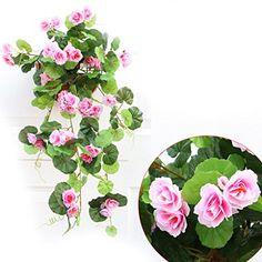 QHGstore Artificial Silk Begonia flowers vine Hanging Plant Vine DIY Garland Home pink No description (Barcode EAN = 0019006438120). http://www.comparestoreprices.co.uk/december-2016-6/qhgstore-artificial-silk-begonia-flowers-vine-hanging-plant-vine-diy-garland-home-pink.asp