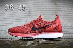 Comfortable Nike Air Zoom Mariah Flyknit Racer Black/Red Men's/Women's Running Shoes Sneakers