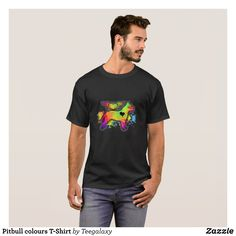 Pitbull colours T-Shirt - Classic Relaxed T-Shirts By Talented Fashion & Graphic Designers - #shirts #tshirts #mensfashion #apparel #shopping #bargain #sale #outfit #stylish #cool #graphicdesign #trendy #fashion #design #fashiondesign #designer #fashiondesigner #style