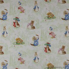 Tales of Beatrix Potter ™ Fabric - Cowtan Design Library
