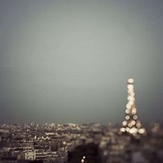 What's cool about this is that the Eiffel Tower is the thing that's out of focus.