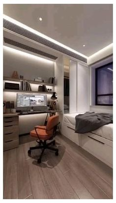 Small Room Design Bedroom, Small Bedroom Interior, Small House Interior Design, Bedroom Furniture Design, Home Room Design, Diy Bedroom Decor, Bedroom Setup, Furniture Layout, Bedroom Layouts For Small Rooms