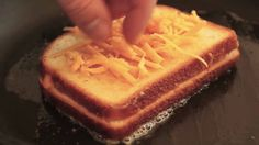 Food Wishes Recipes - Inside-Out Grilled Cheese Sandwich - Ultimate Cheese Sandwich, via YouTube.
