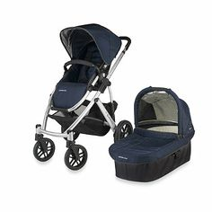 UPPAbaby® Vista Stroller in Navy Taylor - buybuyBaby.com - I love this stroller. A lot. I almost can't even talk about it.