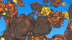 After Effects – Creating Fantastic Cartoon Explosions Tutorial
