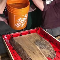 DIY wood furniture tables Watch Black Forest Wood Company and design an elm and resin coffee table. Click the image to try our free home design app. Keywords: diy home ideas, diy furniture, interior design wood, wood furniture inspiration, des