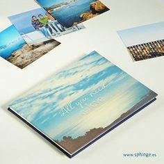 Álbum de fotos para pegar, original acordeón, tamaño A5, leporello
