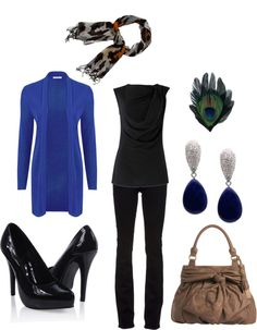"""Soft Dramatic Casual Chic"" by mayacca ❤ liked on Polyvore"