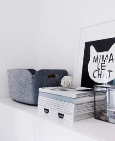 Via Elia Rose | Muuto Restore | Mini & Maximus Le Chat Print
