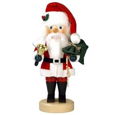 Christian Ulbricht Santa with a Bell Nutcracker
