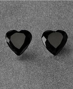 Betsey Johnson Earrings, Heart Stud - Fashion Jewelry - Jewelry & Watches - Macy's