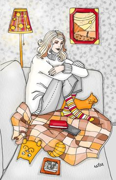 By Natalia Illarionova Crazy Cat Lady Crazy Cats Oeuvre Dart Oeuvres