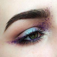 """Gefällt 4,666 Mal, 34 Kommentare - Elena (@coooopp) auf Instagram: """"Day 67/100 of #100daysofmakeup challenge.  Products:  @sephora mermaid tail eyeshadows;…"""""""