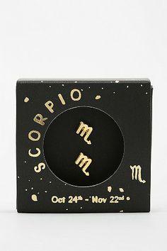 Zodiac Gift Card Earring