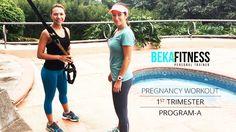 Rutina diseñada especialmente embarazadas en su primer trimestre, podrás hacer ejercicio de una forma segura, y saludable, y disfrutar de etapa junto al ejercicio. Disfruta la parte A de esta rutina!