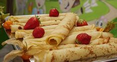 Palacinky bez mlieka - recept | Varecha.sk Ethnic Recipes, Food, Essen, Meals, Yemek, Eten