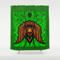 Animals in the fantasy forest Shower Curtain by Pepita Selles - $68.00