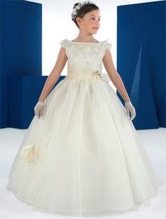 vestidos de comunion para niñas carmy 2012 5 novias - Trajes de primera comunion