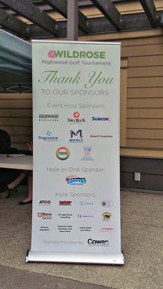 Proud Hole-In-One sponsor at the Highwood Wildrose Golf Tournament