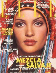 ELLE Spain, 1993. Model: Claudia Mason.
