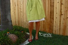 skirt extender... simple and super cute!