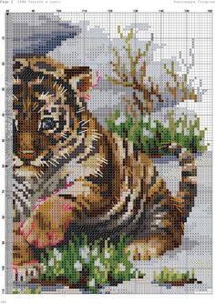 VK is the largest European social network with more than 100 million active users. Cross Stitch Bookmarks, Cross Stitch Art, Cross Stitch Animals, Cross Stitch Designs, Cross Stitching, Cross Stitch Embroidery, Cross Stitch Patterns, Knitting Room, Knitting Charts
