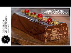 Μωσαϊκό με Φυστικοβούτυρο | Dimitriοs Makriniotis - YouTube Cake, Youtube, Desserts, Food, Tailgate Desserts, Deserts, Kuchen, Essen, Postres