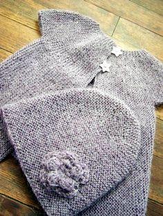explis gilet et bonnet 2 / 3 ans  inspiré d'un modèle de la droguerie :  http://poussieresdetoiles.petitsmots.net/archives/795-Les-explications....html#comments